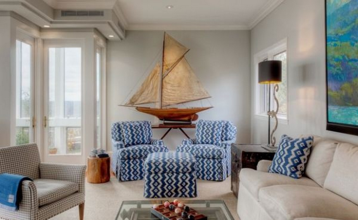 Nautical decor home interior design nautical handcrafted - Interior design and decoration ...