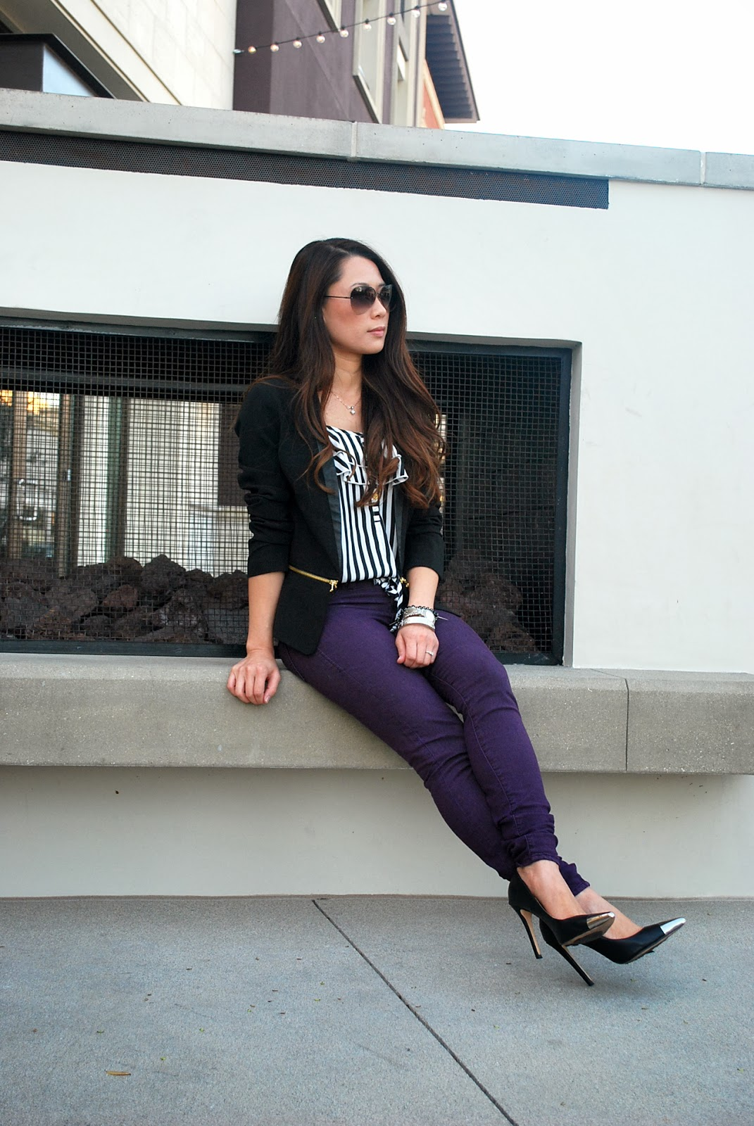 cb87fb0aae9c According To Kimberly... // An Orange County Life + Style Blog : BLOGGER  STYLE CHALLENGE :: Ruby Wine Jeggings