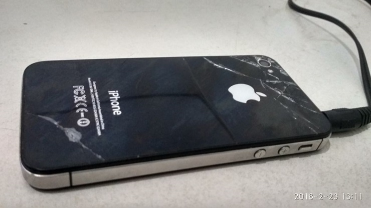 iPhone Pecah Karena Jatuh, Menyebalkan!