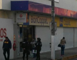 Roban en Tienda Coppel esta madrugada en Cordoba Veracruz