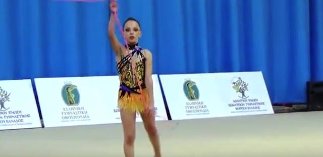 Μετάλλιο στη ρυθμική γυμναστική με Ποντιακό ρυθμό (Video)!