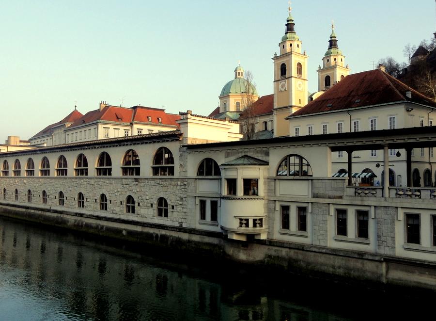 Plecnik's market halls