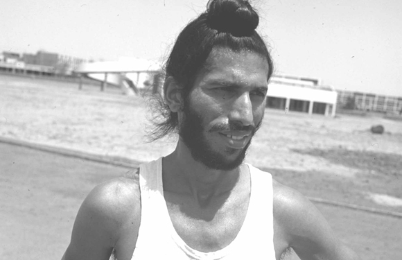 Milkha Singh in 1960 ROME OLYMPIC