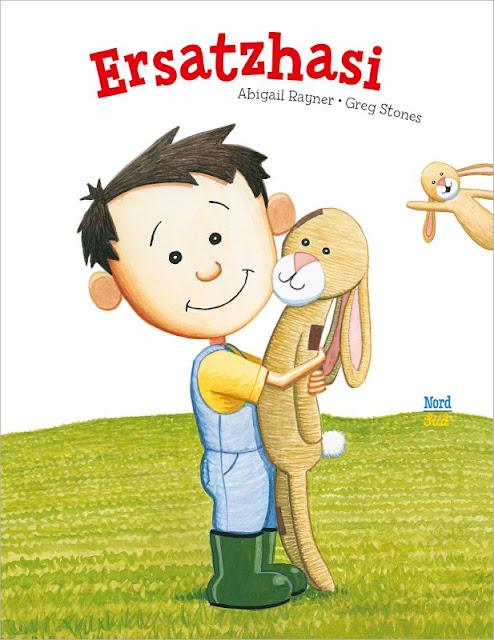 """Das Bücherboot: Von Hühnern und Hasen - Kinderbücher nicht nur für Ostern (+ Verlosung). """"Ersatzhasi"""" ist eins der vorgestellten Kinderbücher, das den Verlust des Lieblingskuscheltieres behandelt."""