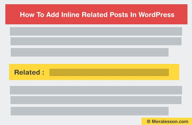 add inline related posts in your articles