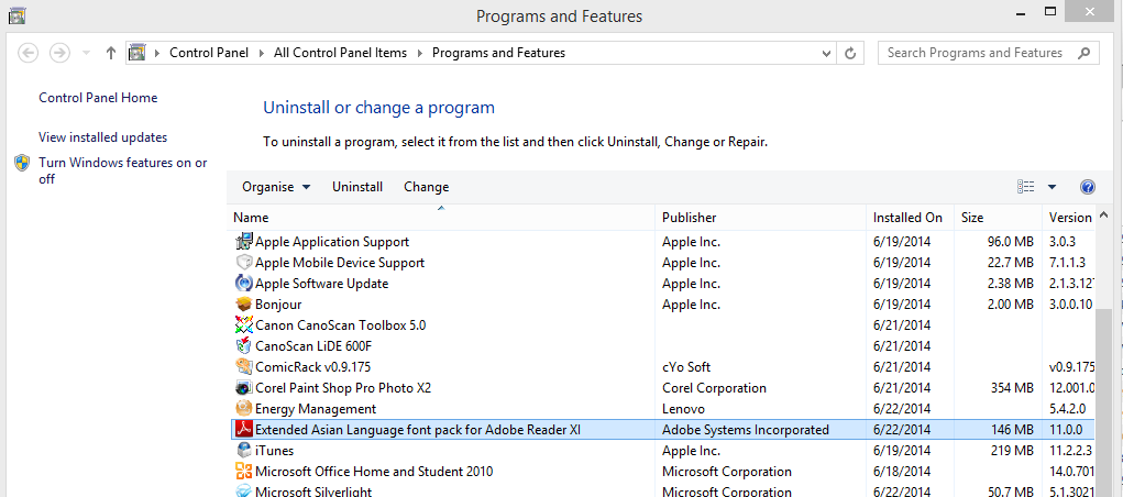 Adobe Reader and Additional Fonts Overview (iOS/Windows 8 1/Windows
