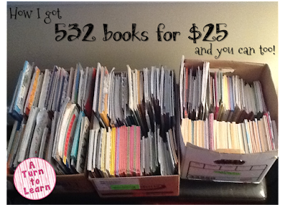how to get cheap books for the classroom!