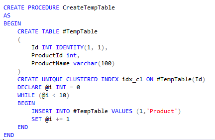How to cache Temp Tables in SQL Server | Hasan Savran