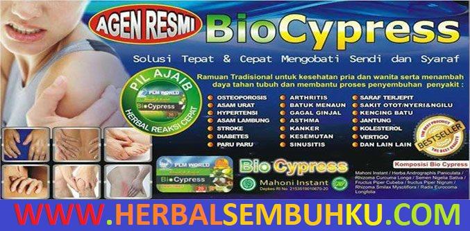 bio cypress solusi masalah sendi saraf mahoni