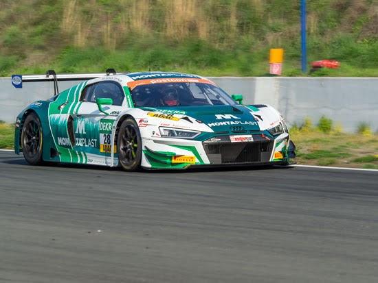 Audi-Bestzeit und guter Einstand von Vettel beim ADAC GT Masters-Test