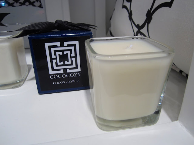 COCOCOZY Black Label Candle in Coco's Flower at the New York International Gift Fair