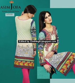 Tunics by ASim Jofa Pre-Spring Magazine / Catalog / Collection
