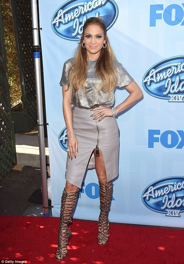 Jennifer Lopez in American Idol's new season photo 1