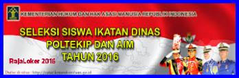 Info Recruitment CPNS Dinas Kementerian Hukum dan Ham Tingkat SMA/SMK 2016