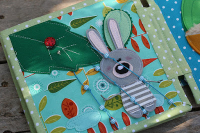 Bunny day quiet book by TomToy