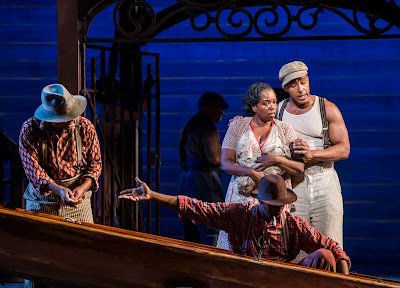 Gershwin: Porgy and Bess - Nadine Benjamin, Donovan Singletary - English National Opera (Photo Tristram Kenton)