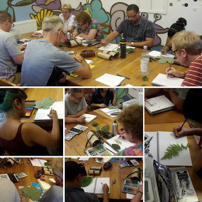 Ants Art Class, Razzle Dazzle Pots, Nottingham