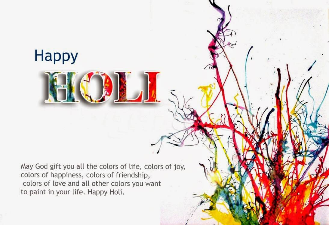 Happy Holi Graphics Scraps Images Ecards for Whatsapp