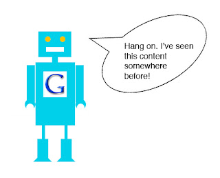content duplication google bot