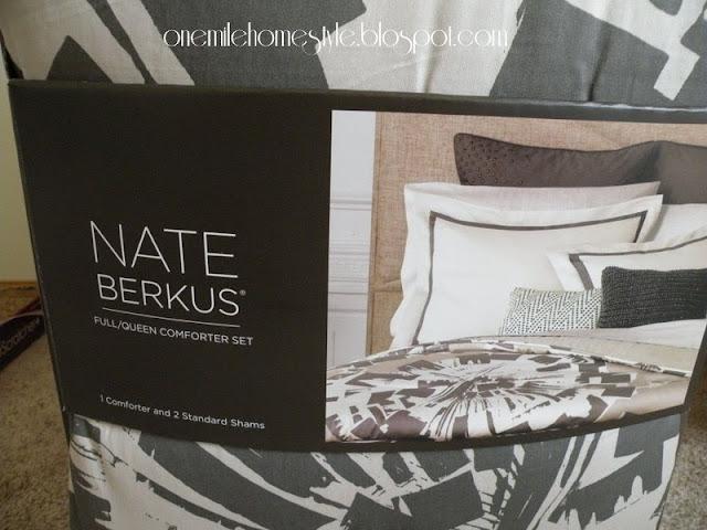 Nate Berkus comforter from Target