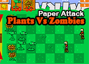 Plants vs Zombies 1: Paper attack