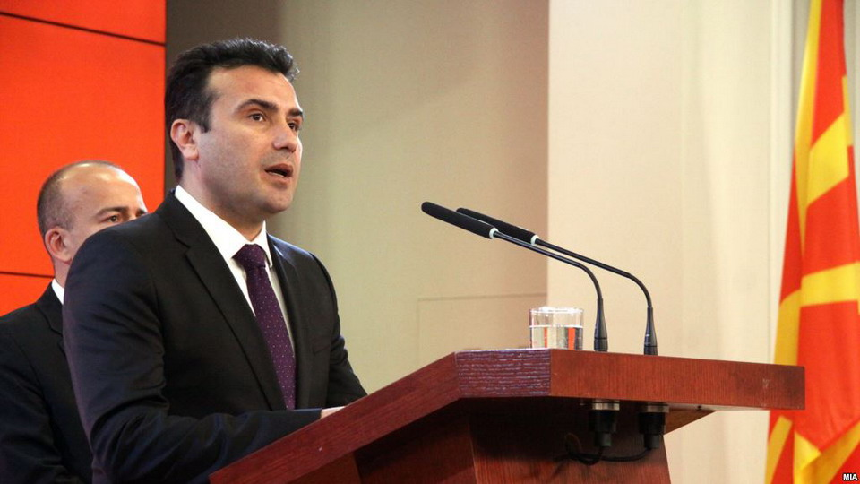 Zaev: Name issue settlement to bring overall prosperity to Macedonia