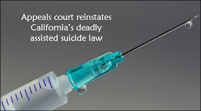 Appeals court reinstates California's deadly assisted suicide law