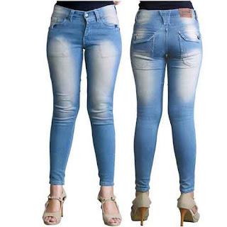 Model celana jeans wanita skinny