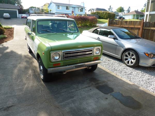 1978 International Scout Travelall 4x4