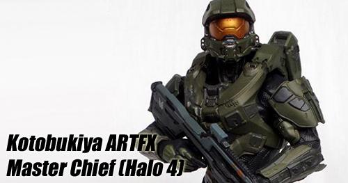 Kotobukiya Halo 4 Master Chief ARTFX szobor bemutató