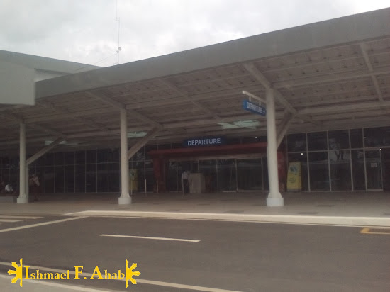 Departure gate of the Puerto Princesa International Airport