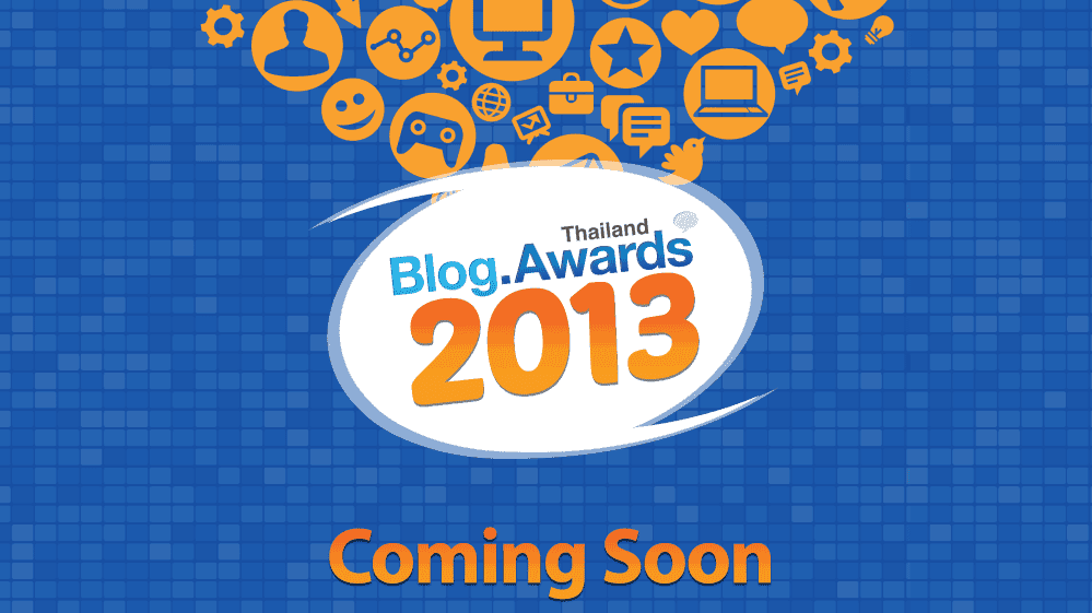 Thailand Blog Awards 2013