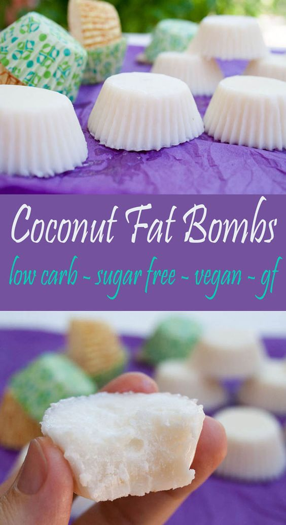 COCONUT FAT BOMBS