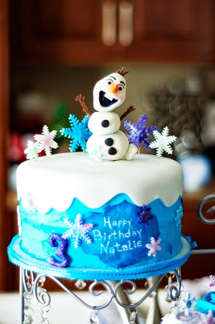 The Princess Birthday Blog Frozen Birthday Party Cakes