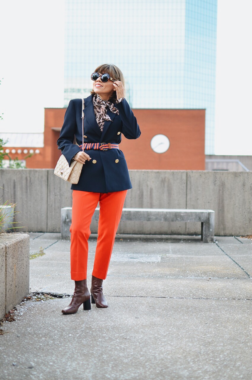 Look With Orange Pants