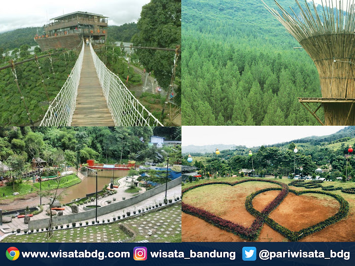 Tempat wisata di Bandung paling ngetren 2016