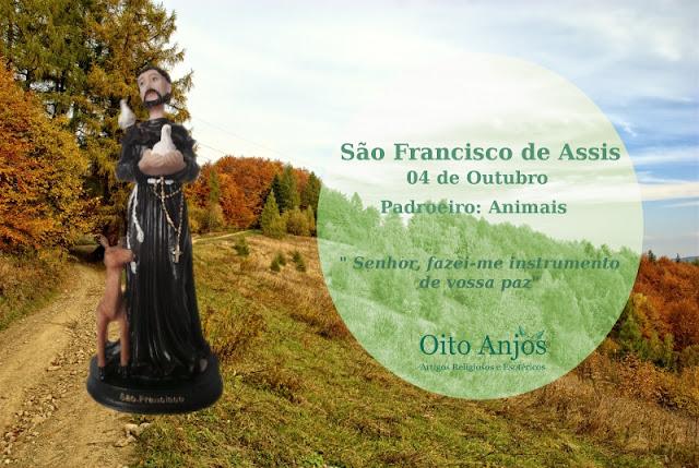 Dia São Francisco de Assis : 04 de Outubro