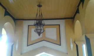 Lampu di Istana Maimun Medan