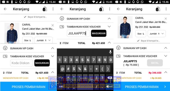 VIP Plaza - 5 Aplikasi Shopping Android Yang Membuat Shopping Menjadi Tanpa Harus Keluar Rumah