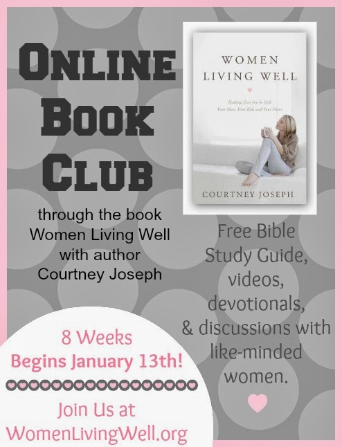 A Productive Endeavor Women Living Well Book Club Week 1