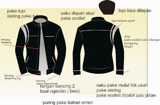 Konveksi Jaket Jas Jalan Suci Surapati Bandung JAwa Barat