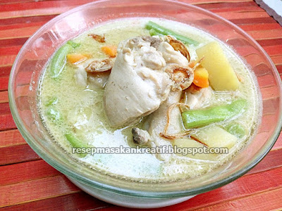 Cara Membuat Opor Ayam Putih Resep Spesial Lebaran