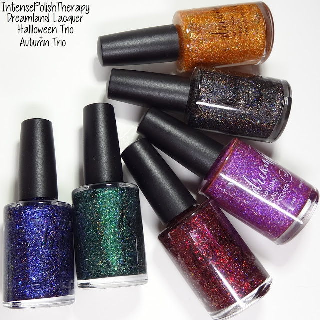 Dreamland Lacquer Autumn Trio & Halloween Trio