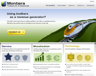 Montiera Toolbar