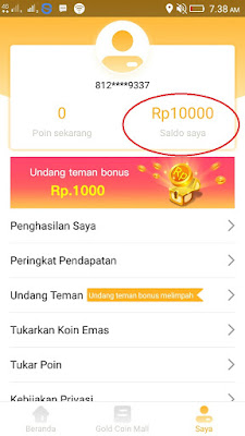 bonus daftar dari aplikasi news cat