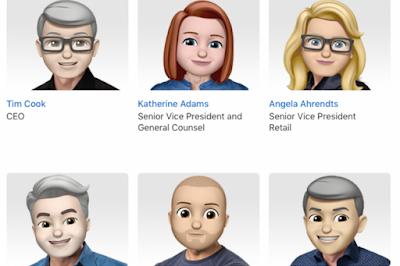 Bos-bos Apple Berubah Jadi Emoji