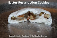 How to make Easter Resurrection Cookies with Bible Verses