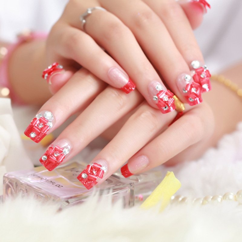 Melodysusie Bring Your Beauty Salon Home 3 Wedding Nail Styles