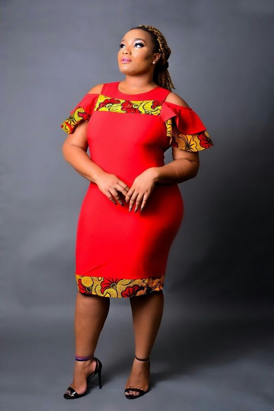 68455c0f65cff These are African print fabrics in different varieties of colors and styles  for our lovely plus size ladies. These dresses fit well and they all look  easy ...