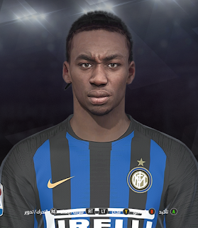 PES 2018 Faces Yann Karamoh by Prince Hamiz